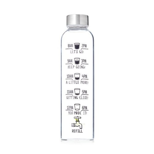 Drink More Water Bottle - Eco-Friendly Gifts | Low Waste Gift Ideas | Goldilocks Effect