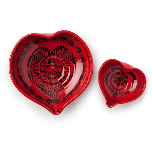Nesting Hearts Bowls - Set of 2