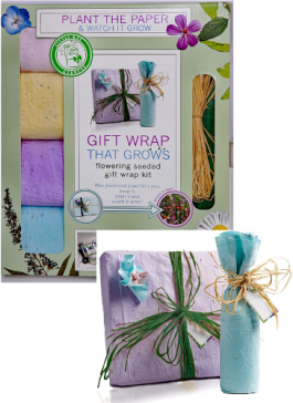 Eco Gift Wrap that Grows - Eco-Friendly Gifts | Low Waste Gift Ideas | Goldilocks Effect