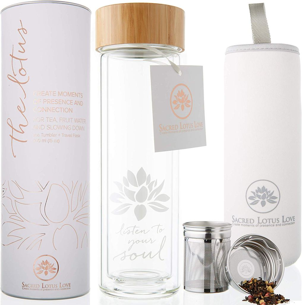 The Lotus Tea Infuser Set - Eco-Friendly Gifts | Low Waste Gift Ideas | Goldilocks Effect
