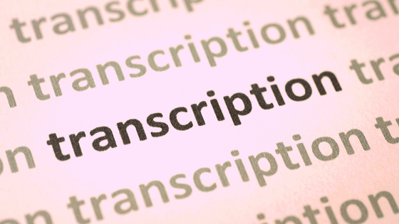 remote work - transcription