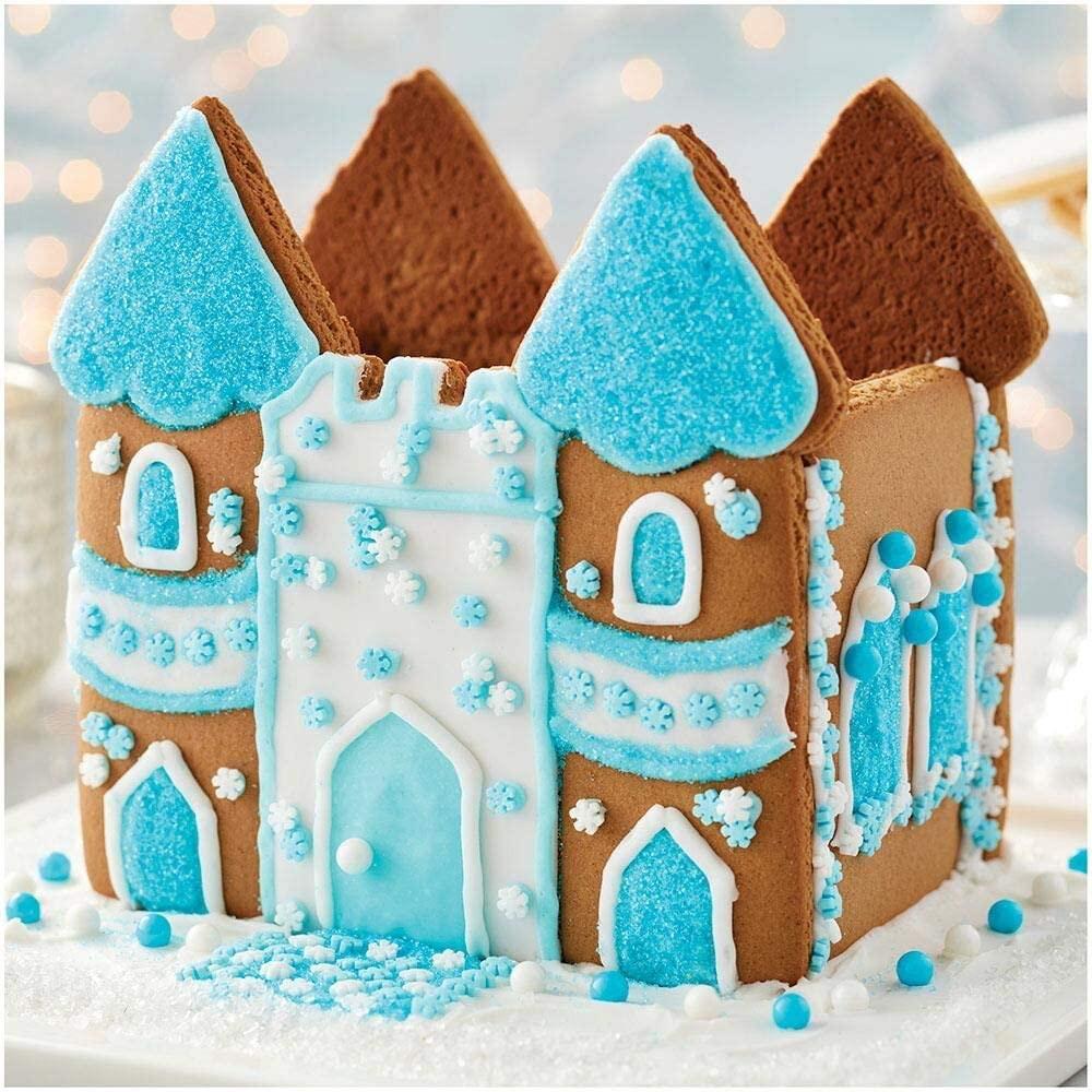 Snowy Castle Gingerbread House Kit