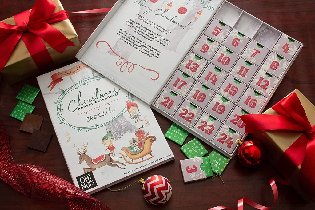 Oh! Nuts Milk Chocolate Advent Calendar 2020