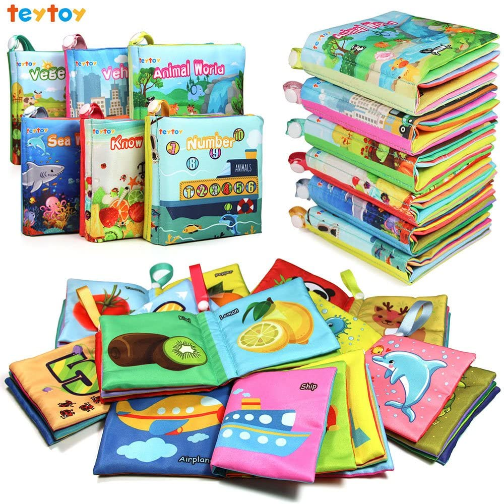Baby Gifts Under $25 - Soft Baby Book Set