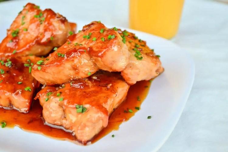 Orange Glazed Pork Tenderloin