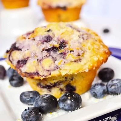 Blueberry Swirl Muffins