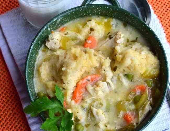 Old Fashioned Chicken Dumplings