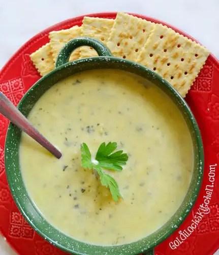 Roast Zucchini Soup