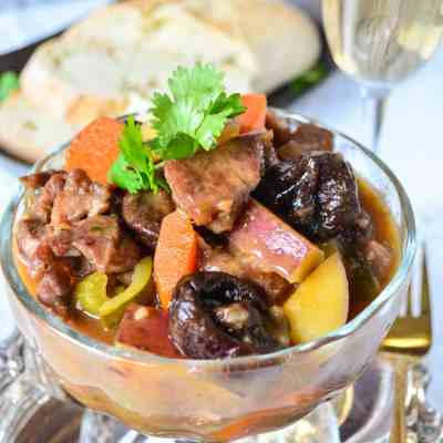 Lamb Stew with Dried Plums