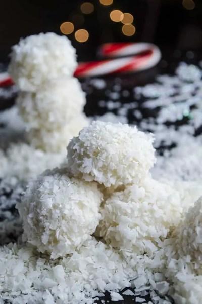 Coconut-Lime Snowballs
