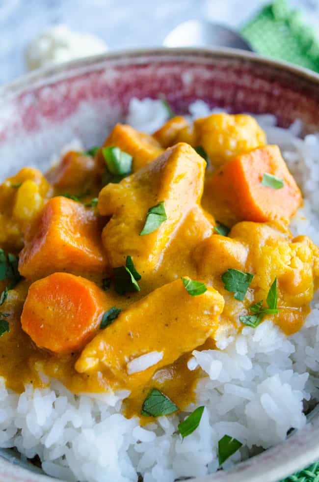 Coconut Pumpkin Curry Close Up