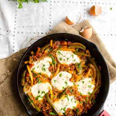 Egg and Chorizo Skillet Supper