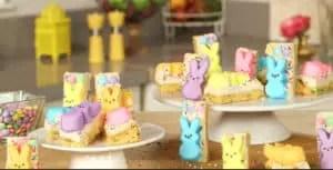 Ultimate Easter Peeps cookie-bars