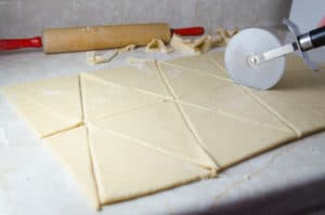 Crescents Roll dough 3