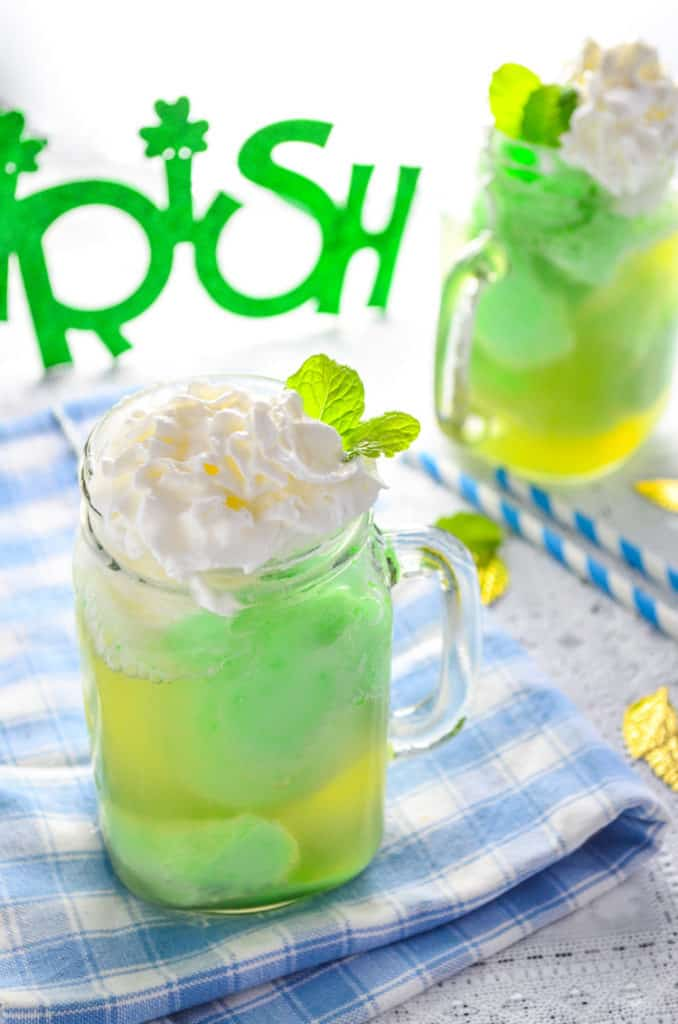 Ginger lime float