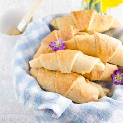 Make Ahead Flakey Crescent Rolls