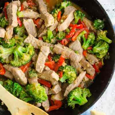 Broccoli Pork Stir Fry