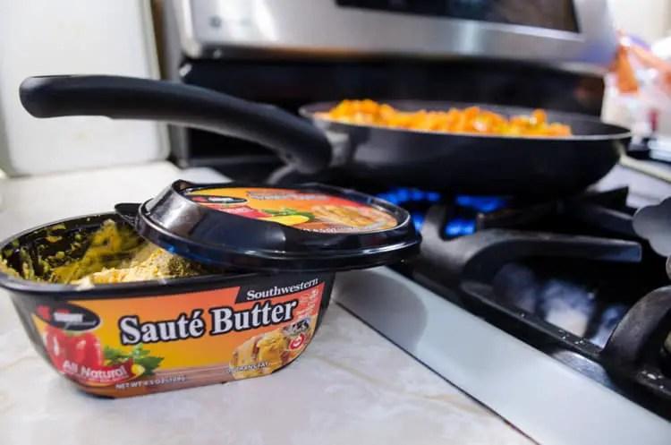 Chef Shamy Southwestern Saute Butter