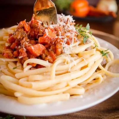 25 minute Pasta Bolognese Dinner