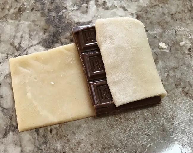 Chocolate Croissant Cookies
