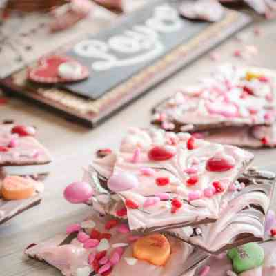 Sweet Tooth Valentine's Day Bark