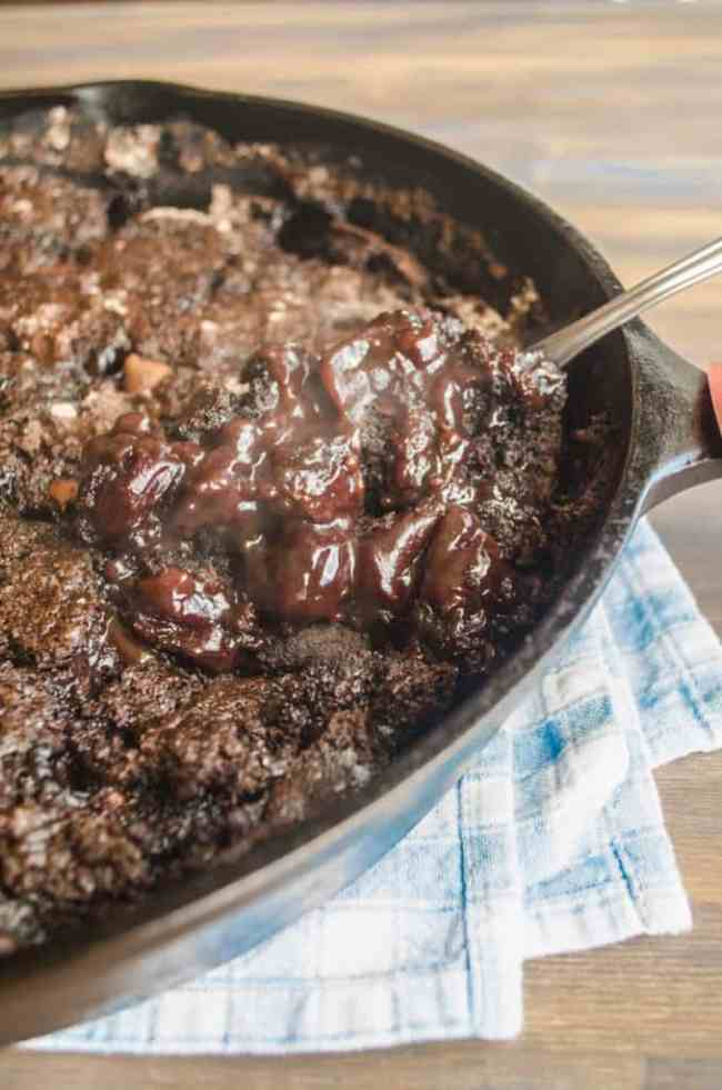 Life S Hard Eat Some Cherry Chocolate Cobbler The