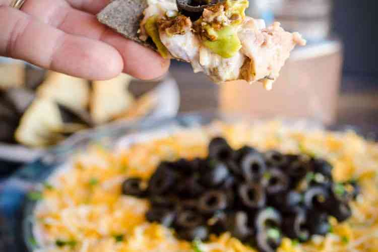 Spicy Chipotle Seven Layer Dip