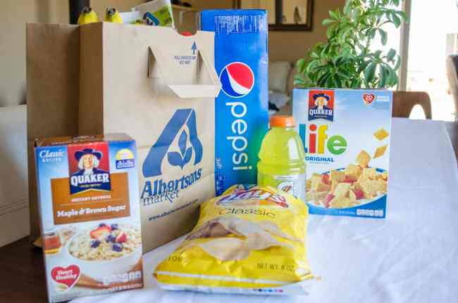 Be sure to stop by Albertson's grocery store during their anniversary sale August 1-14 to save on all your favorite PepsiCo products and so much more!