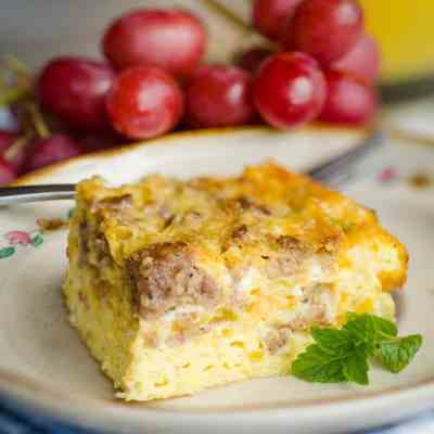 Green Chile Breakfast Cubes