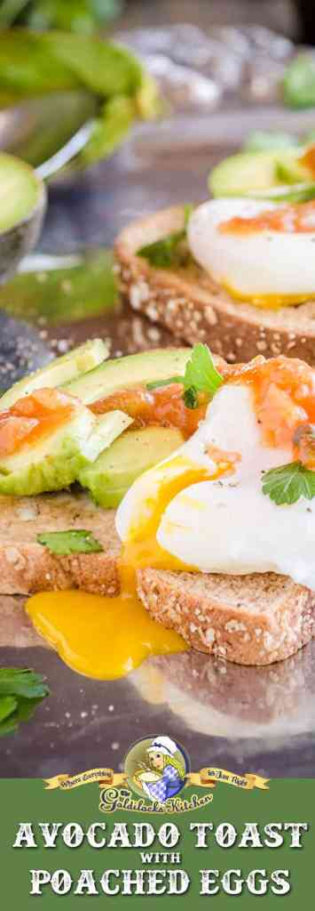 In case you've never heard of Avocado Toast with Poached Eggs, it's taking the rising generation by storm in their efforts to be health conscious and avoid processed foods for breakfast. It also happens to be absolutely delicious!