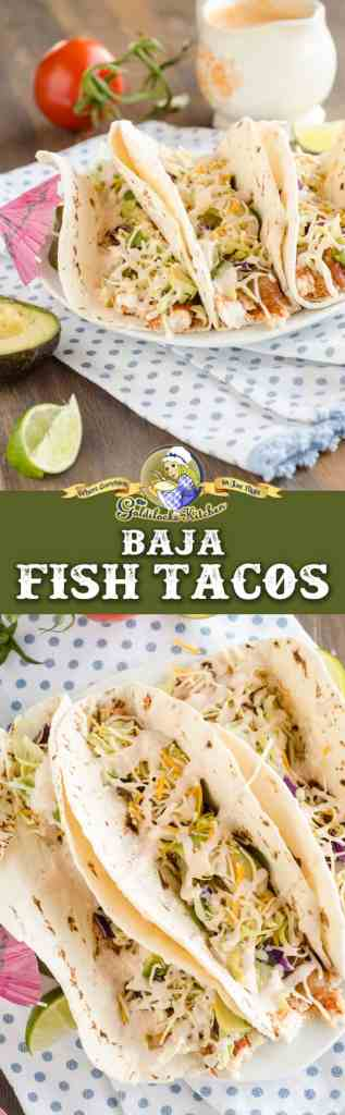 Shake up the boring routine and serve Baja Fish Tacos for taco Tuesday! Packed with nutrition and fresh ingredients, one bite will send your mouth on a culinary journey to Cabo San Lucas. You can feel good about eating these healthy tacos too.