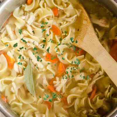 Make Ahead Chicken Noodle Soup