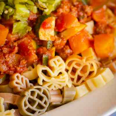 Green Chile Squash Goulash