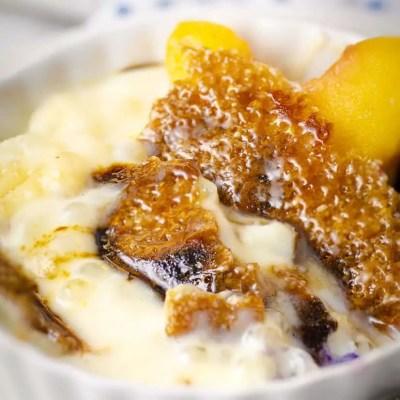 Tapioca Pudding Brûlée