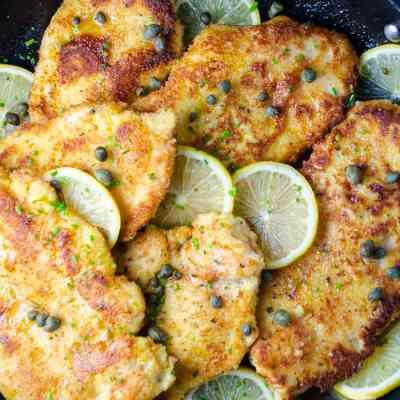Sweet Lemon Chicken Piccata is the Latest Chicken Craze