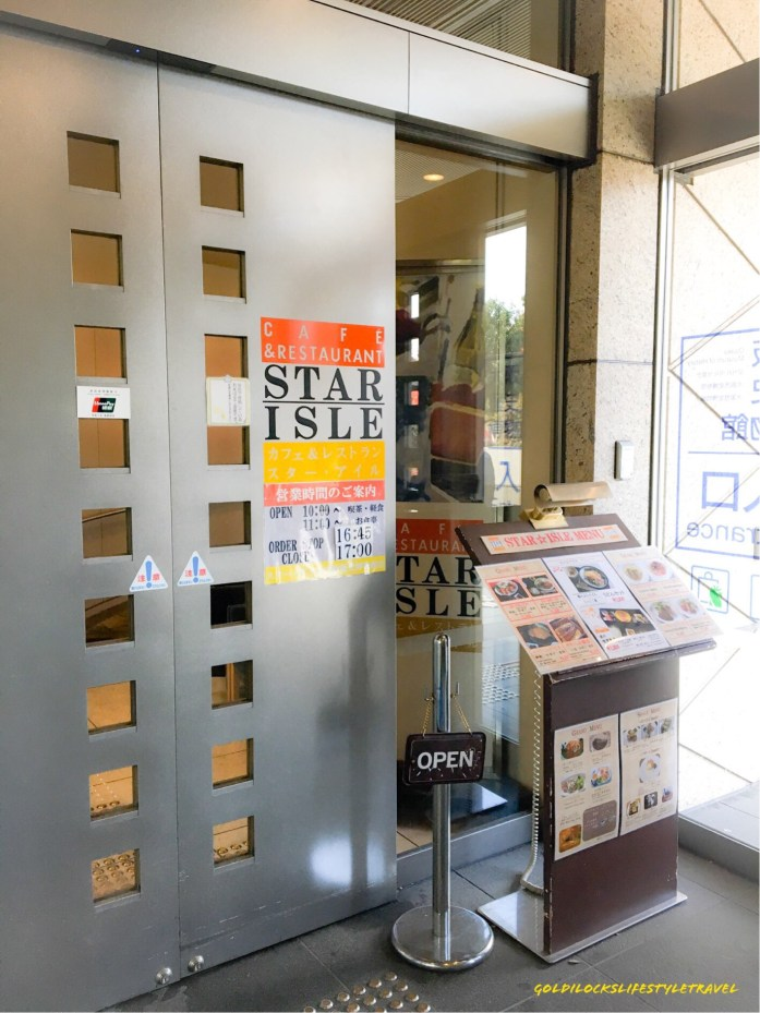 Restaurant Star Isle at Osaka Museum of History