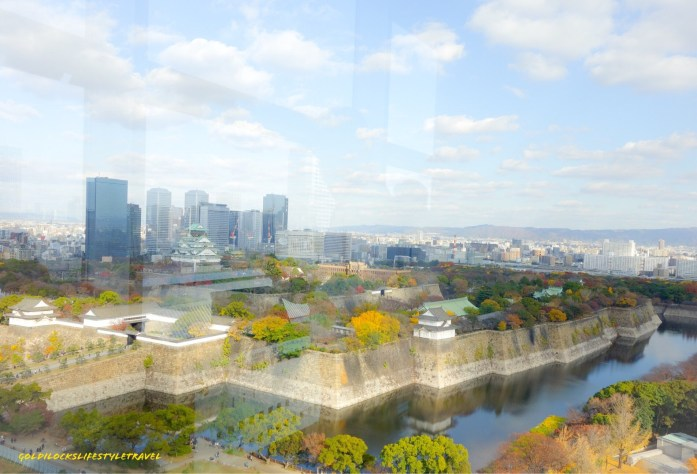 View of Osaka Castle from Osaka Museum of History