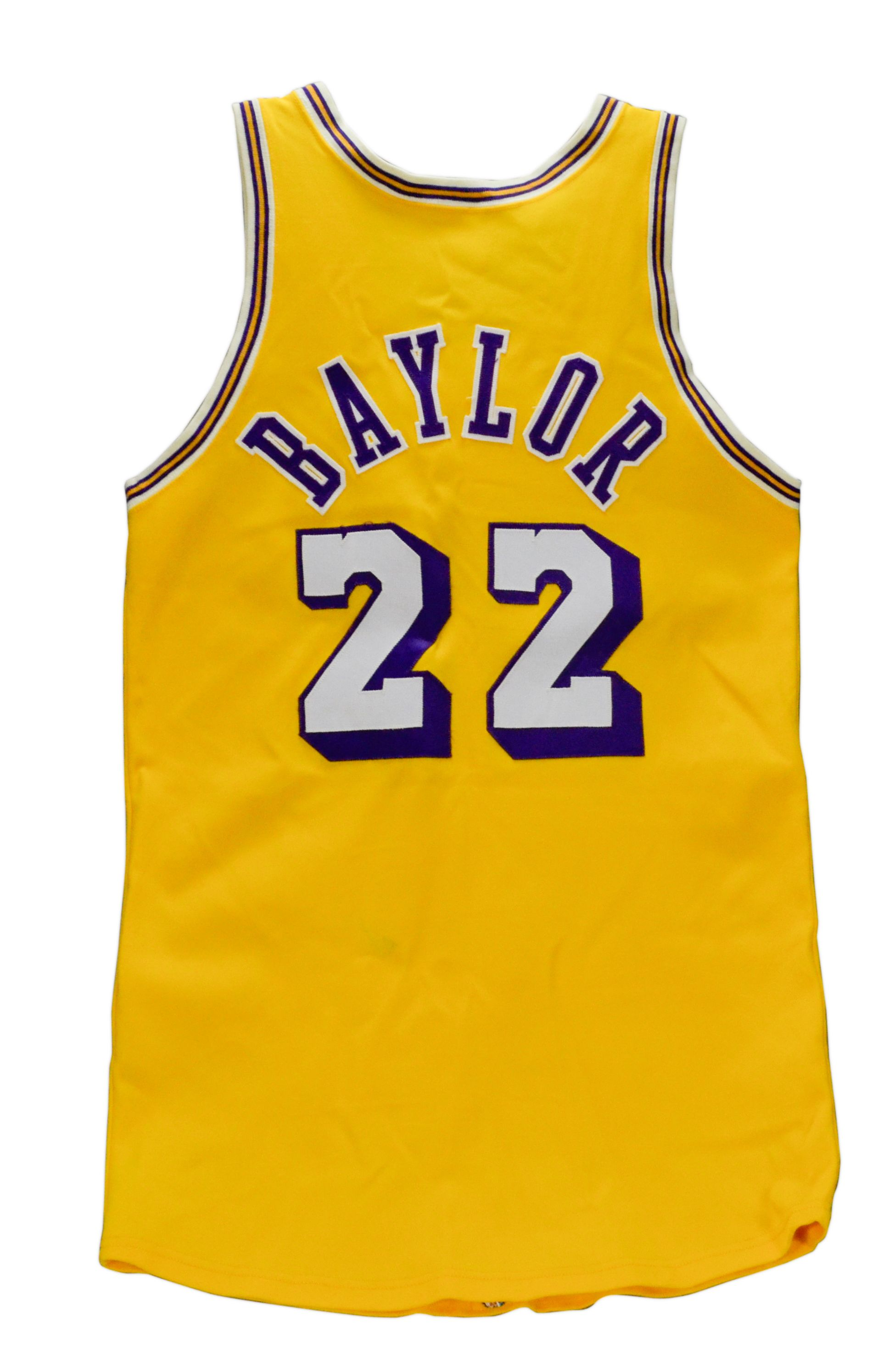 Lot Detail 1970 1972 Game Used Elgin Baylor Lakers