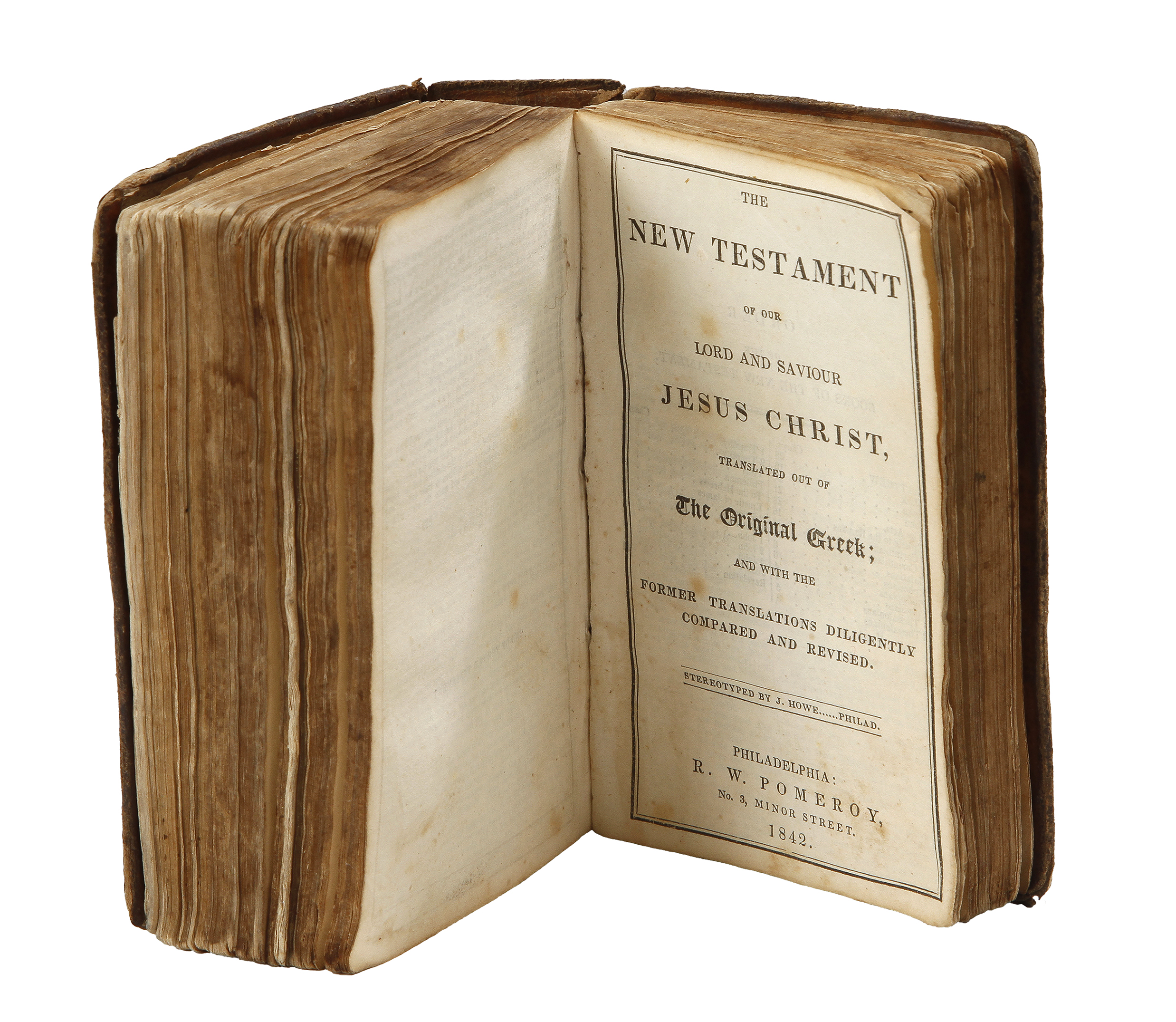 Lot Detail Historic Civil War Soldiers Bible