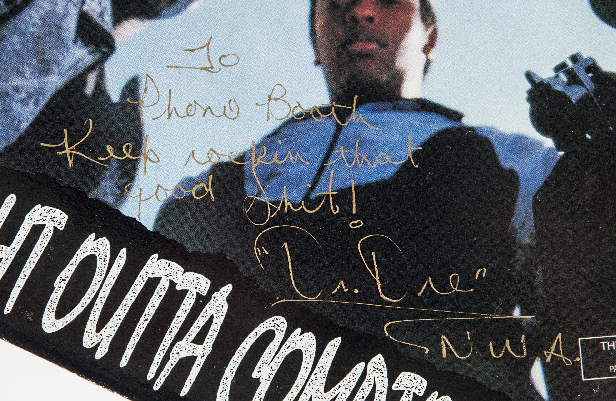 Lot Detail NWA STRAIGHT OUTTA COMPTON Signed Album JSA