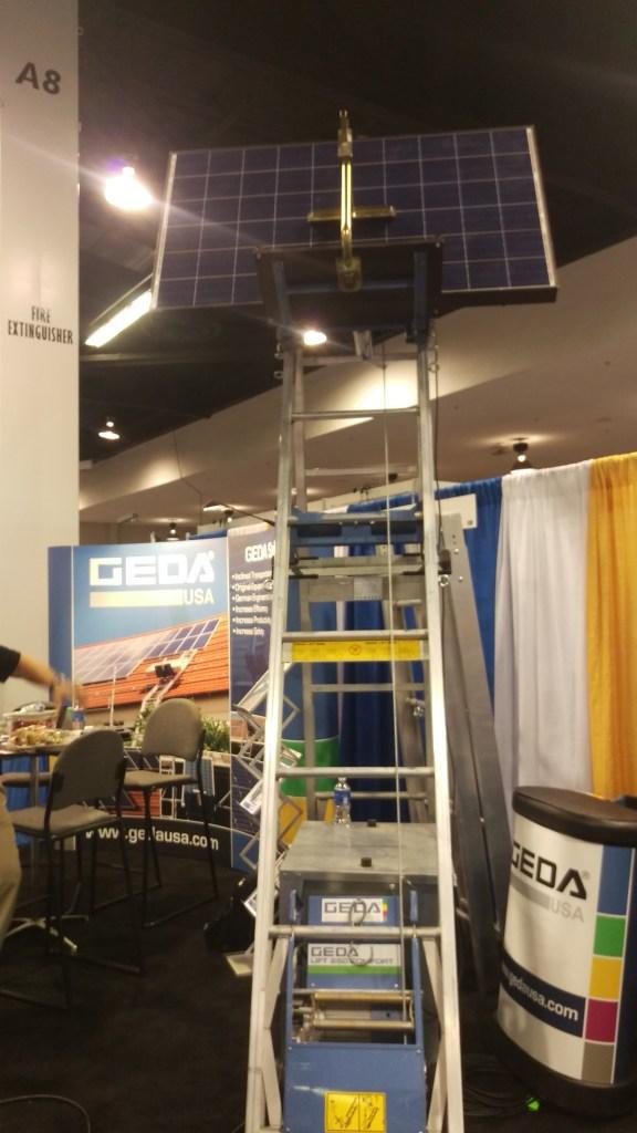 Solar Panel Hoist