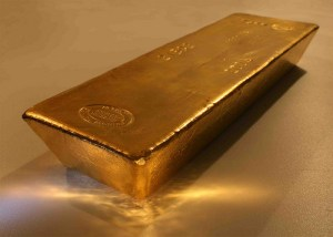 Gold bullion is a more stable investment than gold stocks.
