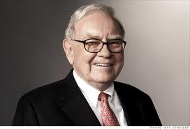 Fed money printing makes Buffett happy.