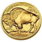 "Rear, or ""reverse"", side of American Buffalo coin"