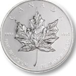 Canadian Maple Leaf coins are a popular investment for palladium bullion
