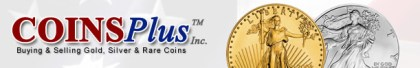 Coins Plus Logo