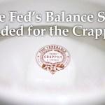 Fed Finally Admits the Pre-Crisis Balance Sheet Will Never Return