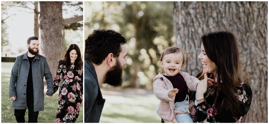 2018 07 15 0005 - Ashlea, Dan, + Willow, Adelaide Botanic Gardens