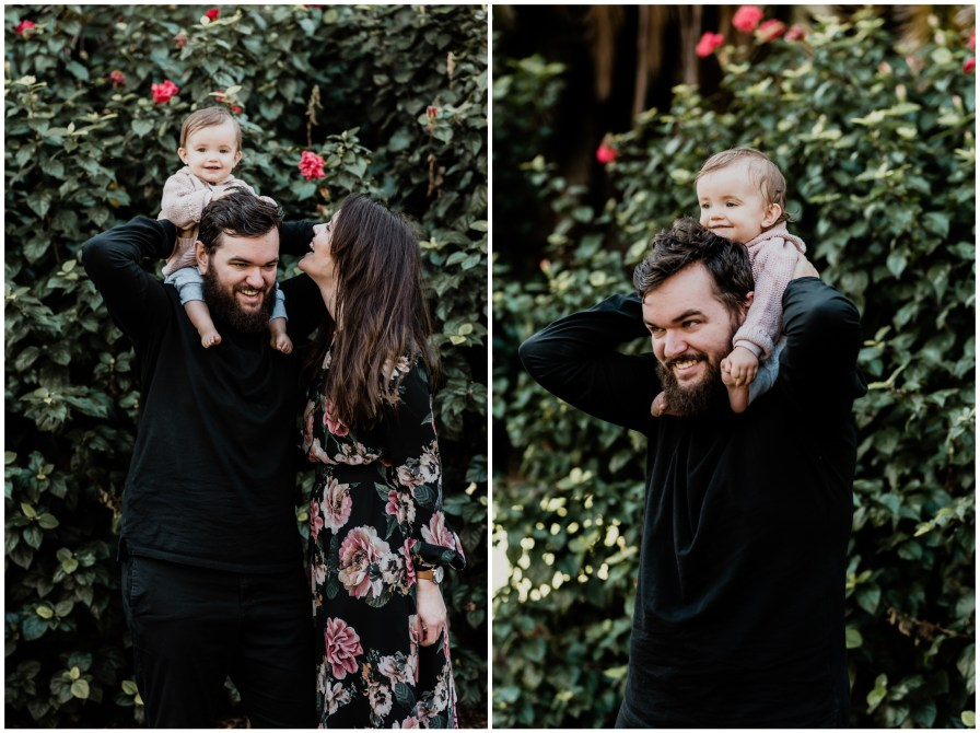 2018 07 15 0022 - Ashlea, Dan, + Willow, Adelaide Botanic Gardens