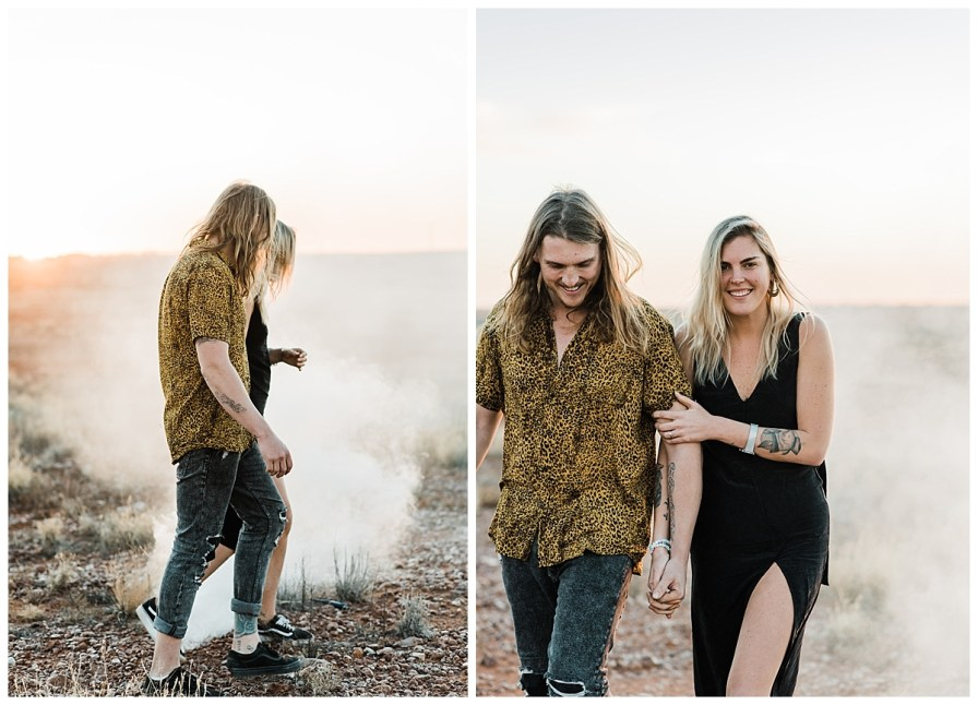 2018 08 05 0069 - Issy + Zac, Coober Pedy Elopement
